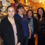 Douglass externs at Taste of Crete store
