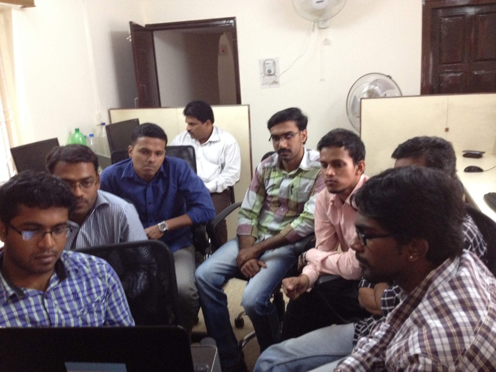 Suresh with other Jalima & Associates team members