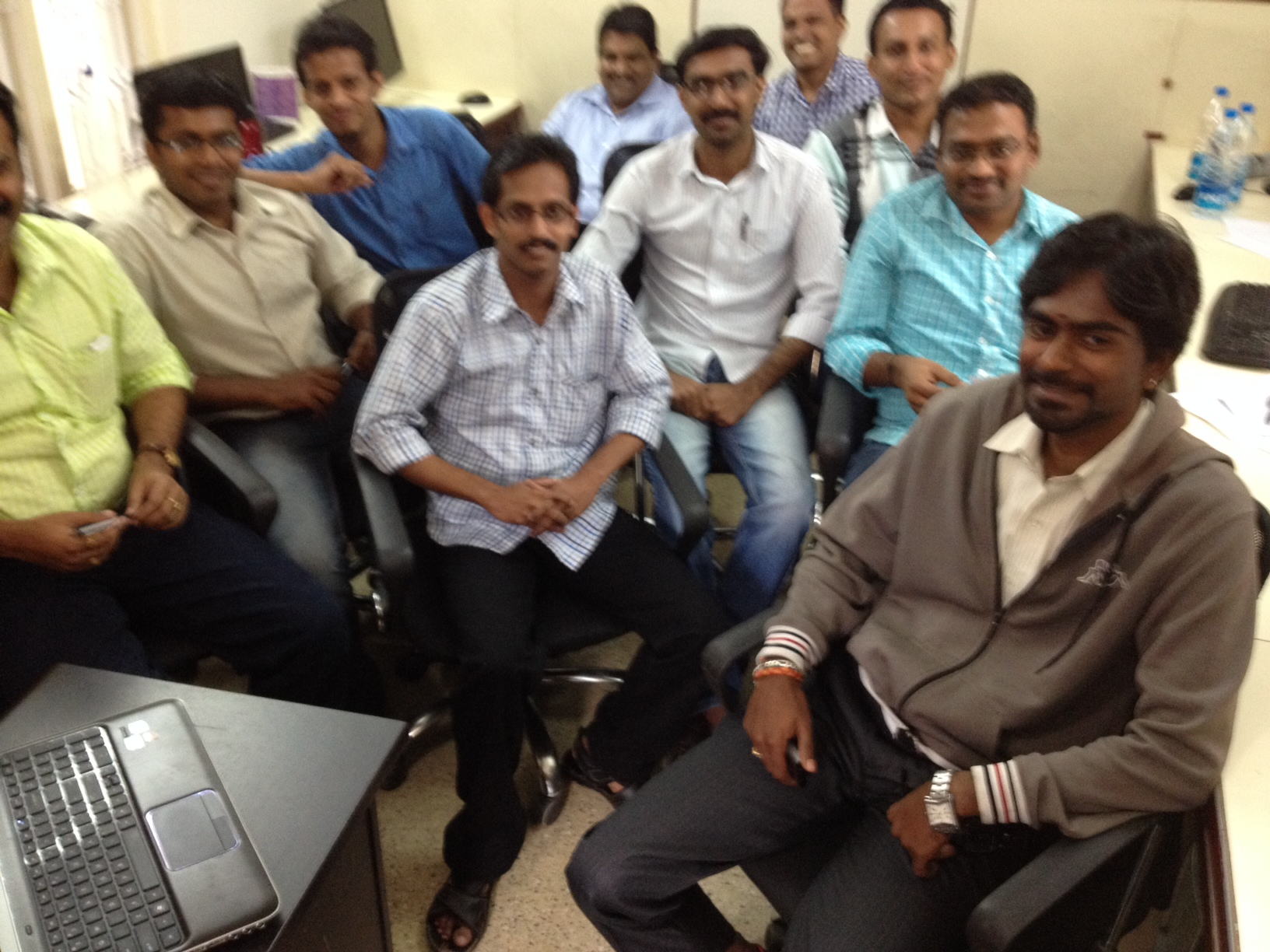 Jalima team in India
